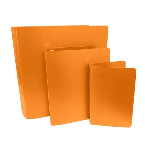 Orange Letter Size Poly Binders (Case of 100) Image 1