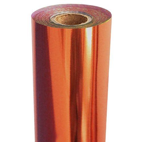 Orange Metallic Foil Fusing Rolls