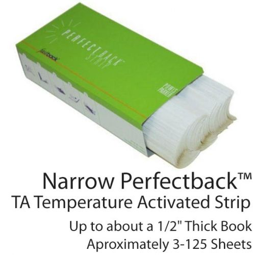 Narrow Fastback Perfectback TA Temperature Activated Strip