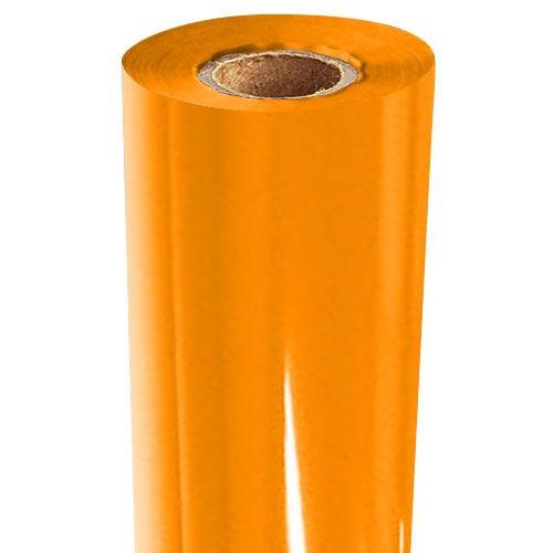 Orange Gloss Pigment Foil Fusing Rolls (Price per Roll) Image 1