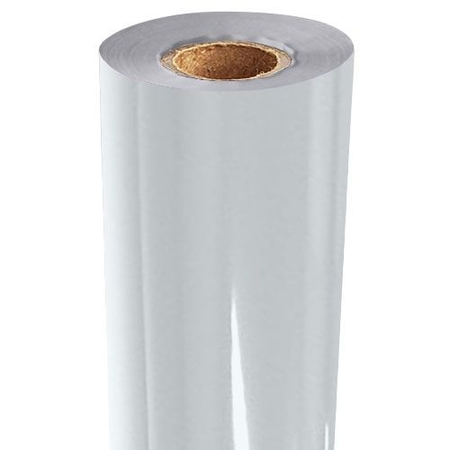 White Gloss Pigment Foil Fusing Rolls (Price per Roll) Image 1