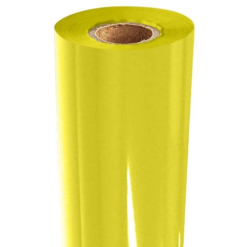 Yellow Gloss Pigment Foil Fusing Rolls (Price per Roll) Image 1