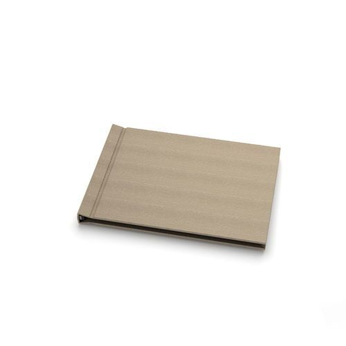 "5"" H x 7"" W Landscape Taupe Cloth Pinchbook™ Photo Books (10 Pack)"