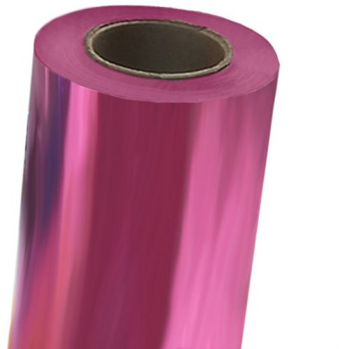 Bright Pink Toner Foil Fusing Roll with 3 inch Core