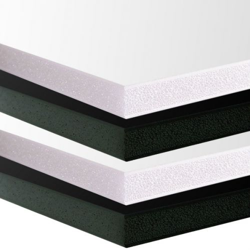 Plain Foamcore Mounting Boards, Available in Black and White