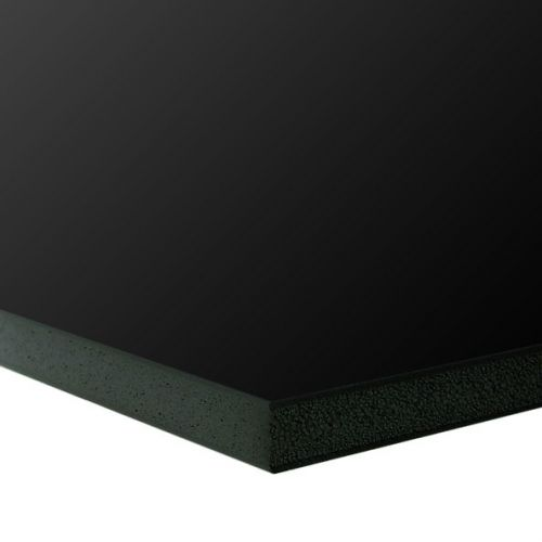 "Plain Foam Board [Black, 24"" x 36"", 3/16"" Thick] (25/Bx) Item#80FBB3162436"