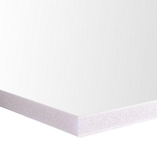 "Plain Foam Board [White, 48"" x 96"", 3/16"" Thick] (25/Bx) Item#80FBW3164896"