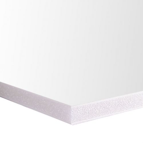 "Plain Foam Board [White, 36"" x 48"", 3/16"" Thick] (50/Bx) Item#80FBW3163648"