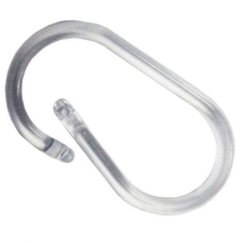 Clear Plastic Oval Snap Lock Binding Rings - Buy101