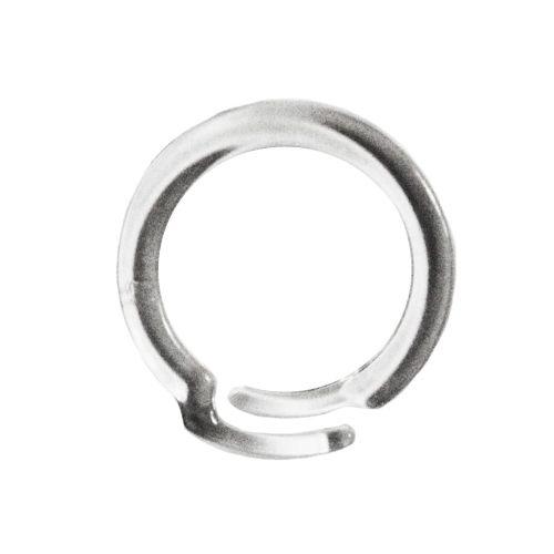 Clear Overlap Plastic Binding Rings - Buy101