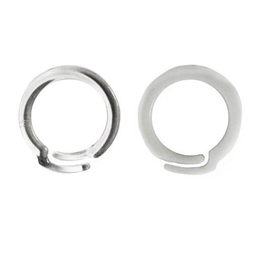 Overlap Plastic Binding Rings