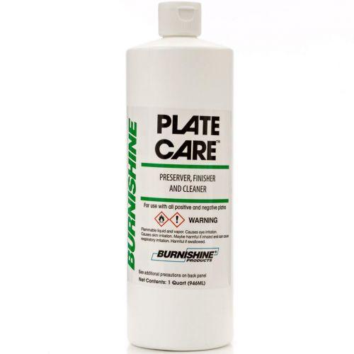 Burnishine Plate Care Preserver, Finisher, & Cleaner [Quart]