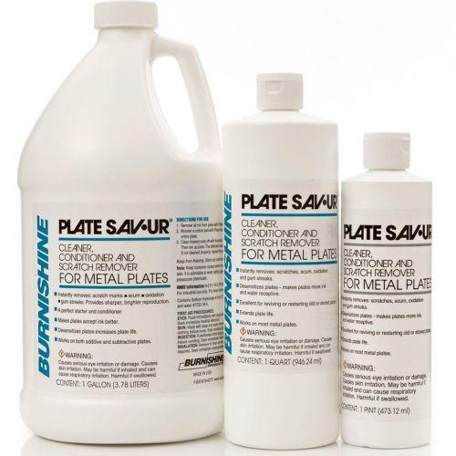Burnishine Plate Sav-Ur | Plate Cleaner, Conditioner, & Scratch Remover