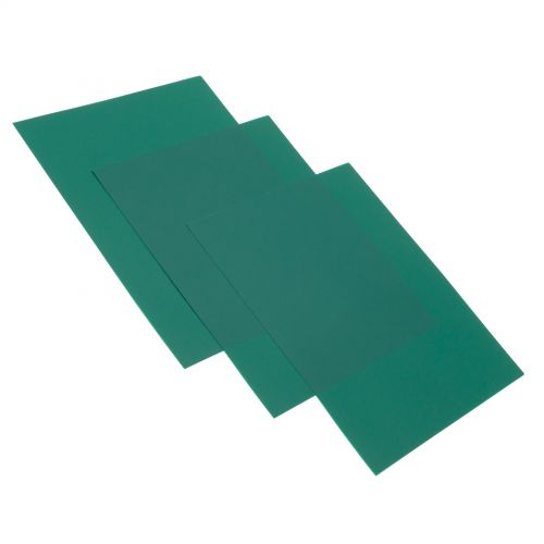 Green Poly Matte Report Covers