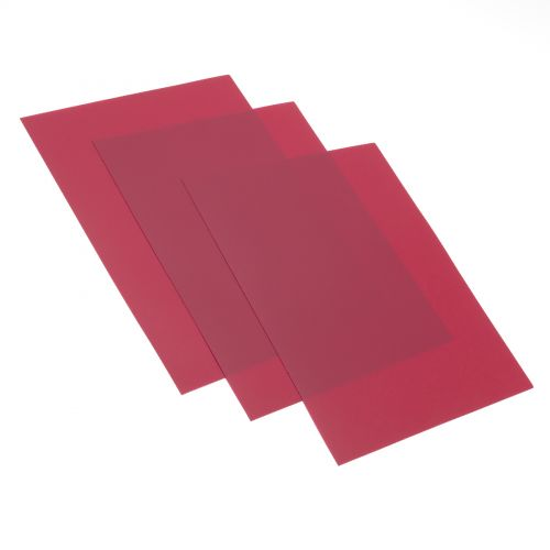 Maroon Poly Sand Binding Covers