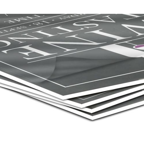 Thermal Paperboard Pouch Boards with Gloss Laminate