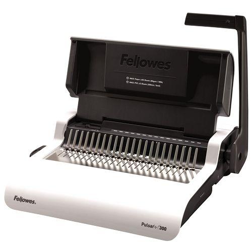 Fellowes Pulsar+ 300-Sheet Manual Comb Binding Machine - 5006801 Image 1