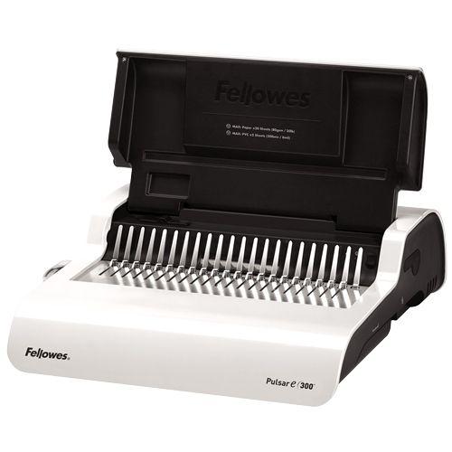 Fellowes Pulsar E 300-Sheet Electric Comb Binding Machine - 5216701 Image 1