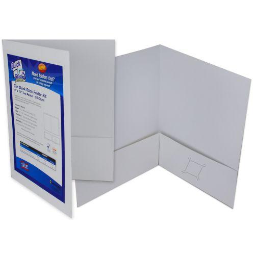 Quick Stick Print-Your-Own Folder Kit, Make Your Own Custom Pocket Folders - Buy101