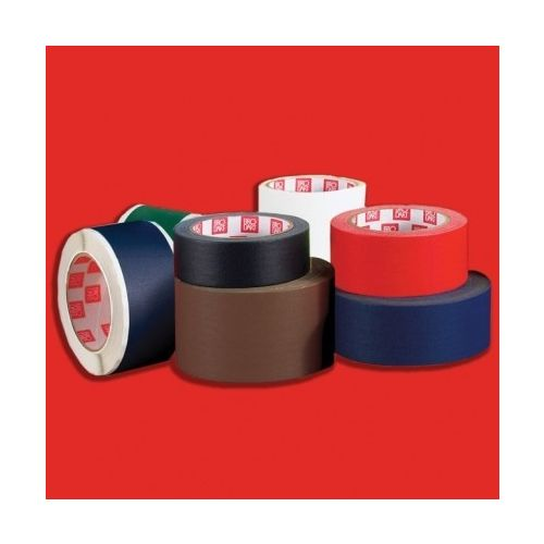 Red Fabric Book Repair Tape (Price per Roll) Image 1