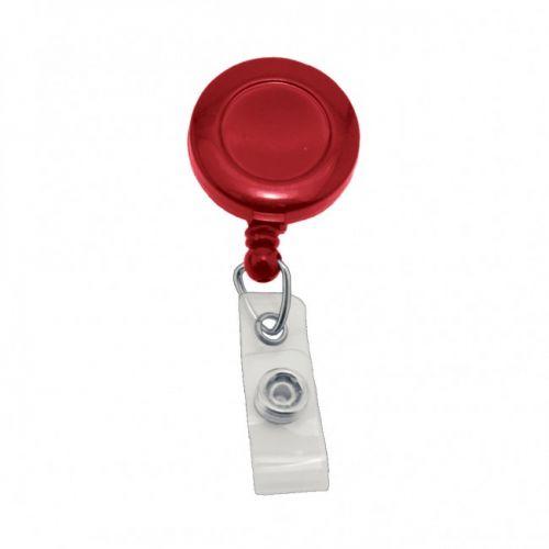 Round Badge Reels [Red] (100/pk) Item#09AKREBARD