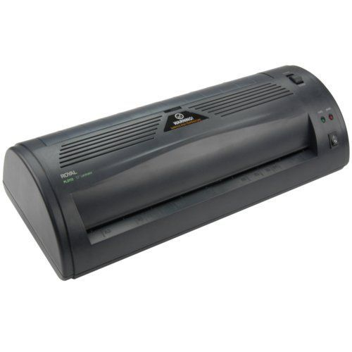 "Royal PL2112 12"" Pouch Laminator with Starter Kit Image 1"