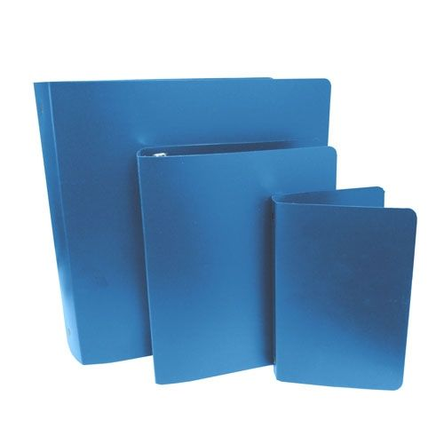 Royal Blue Letter Size Poly Binders (Case of 100) Image 1