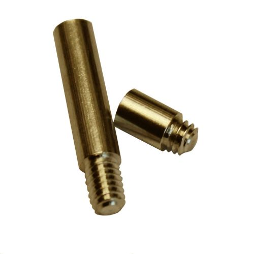 "1"" Antique Brass Aluminum Screw Post Extensions - Buy101"