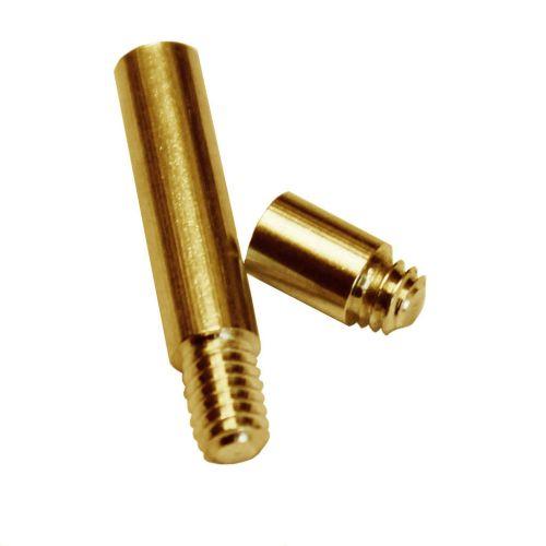 Gold Aluminum Chicago Screw Post Extensions