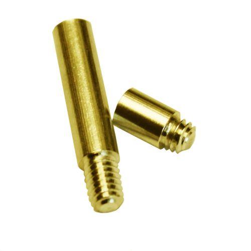 "1"" Gold Aluminum Screw Post Extensions - Buy101"