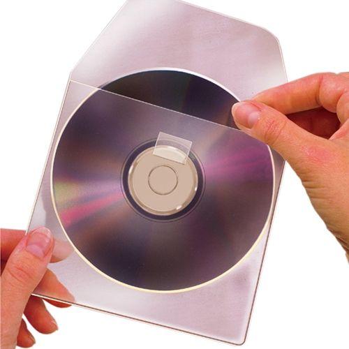Self-Adhesive CD & DVD Pockets Image 1