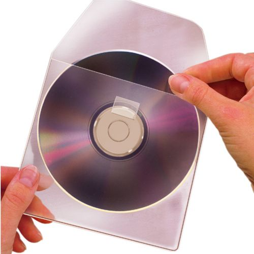 Self-Adhesive CD & DVD Pockets