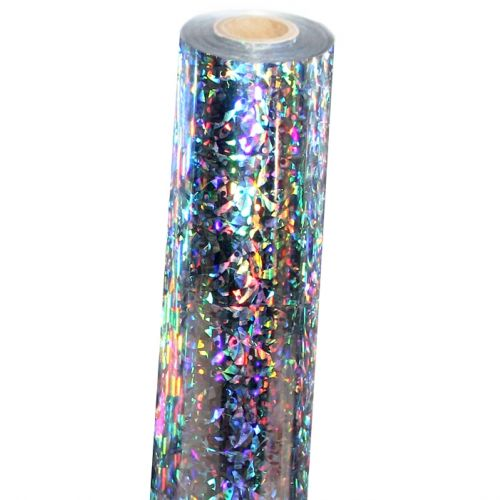 Shattered Glass Holographic Foil Fusing Rolls