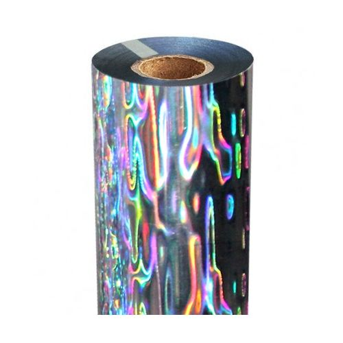 Shimmering Waters Holographic Foil Fusing Rolls [Silver Underlay]