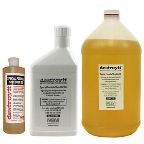 MBM Destroyit Shredder Oil + Shredder Lubricant