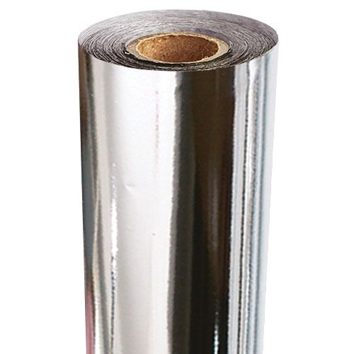 Silver Metallic Thermal-Reactive Toner Foil Fusing Roll