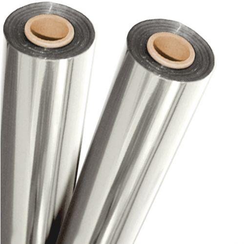 "12"" x 500' Silver Metallic Foil Fusing Rolls"