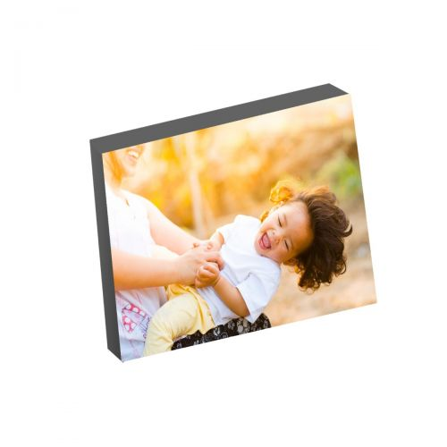 "8"" x 10"" Silver Linings™ Photo Blocks with Gray Edge (10/Bx) - Clearance Sale"