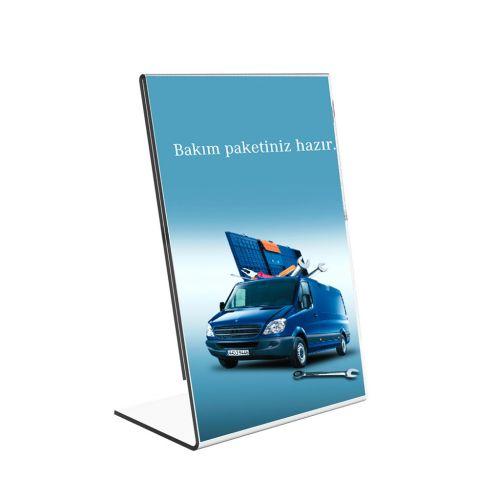 "5"" W x 7"" H Slanted Single-Sheet Brochure Holders (4/Pk) Item#88ULS13383"