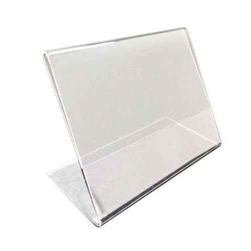 "11"" W x 8 ½"" H Slanted Single-Sheet Brochure Holders (4/Pk) Item#88ULS15659"