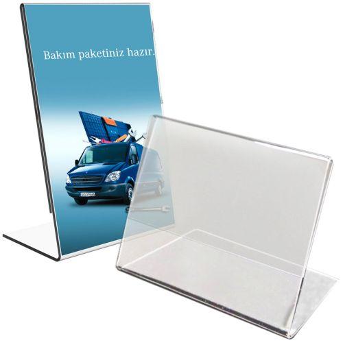 Buy Slanted Single-Sheet Table-Top Brochure Holders Online | Binding101
