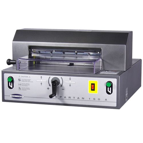Challenge Spartan 150A Automatic Electric Paper Cutter - Buy101