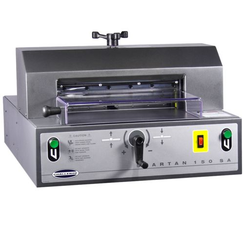 Challenge Spartan 150SA Semi-Automatic Electric Paper Cutter - Buy101