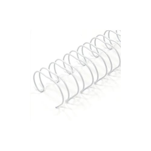 White Spiral-O 19-Ring Wire Binding Spines