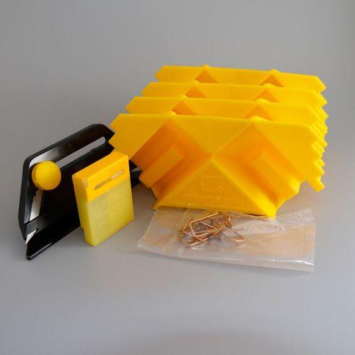 GOframe 1500 Pro Starter Kit (4 Positioning Corners, Trimmer, Blade Pack, Fasteners) - 1500PSK