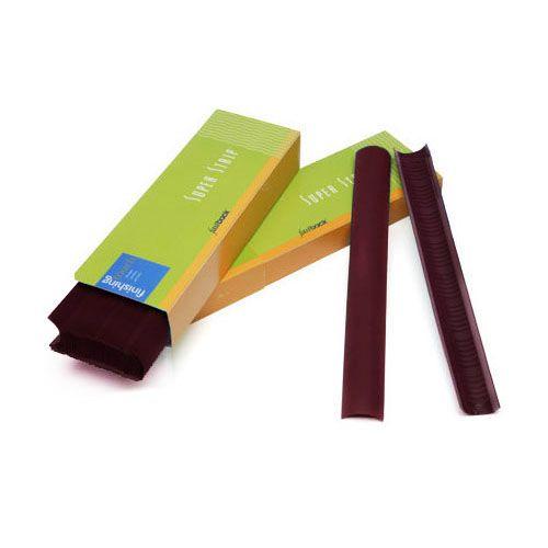 "Maroon 8 ½"" Long Fastback Super Strip Tape Binding Stripes"