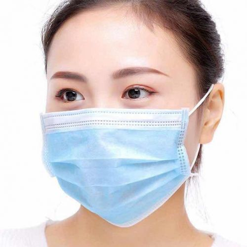 Surgical Style Disposable Face Masks In Stock
