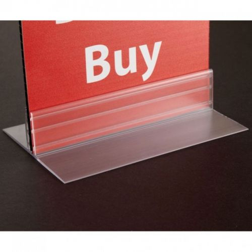"3"" T-Style Table-Top Sign Holder (10/pk) Item#88KI108553"