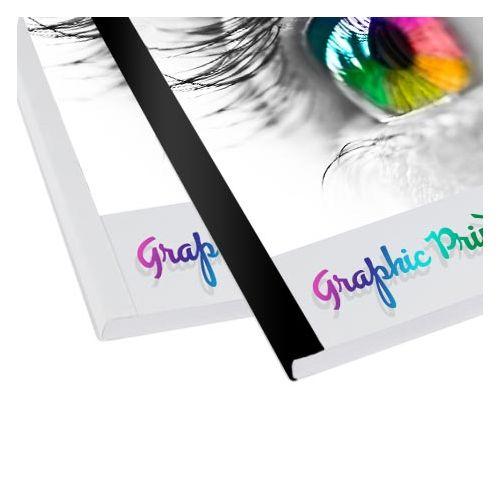 Spine Tape for Standard BQ-P60, Black & White
