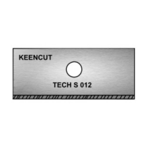 Keencut Tech S .012 Bevel Blades (100/Pk) Image 1